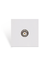 Audac Connection plate - BNC - bticino White version