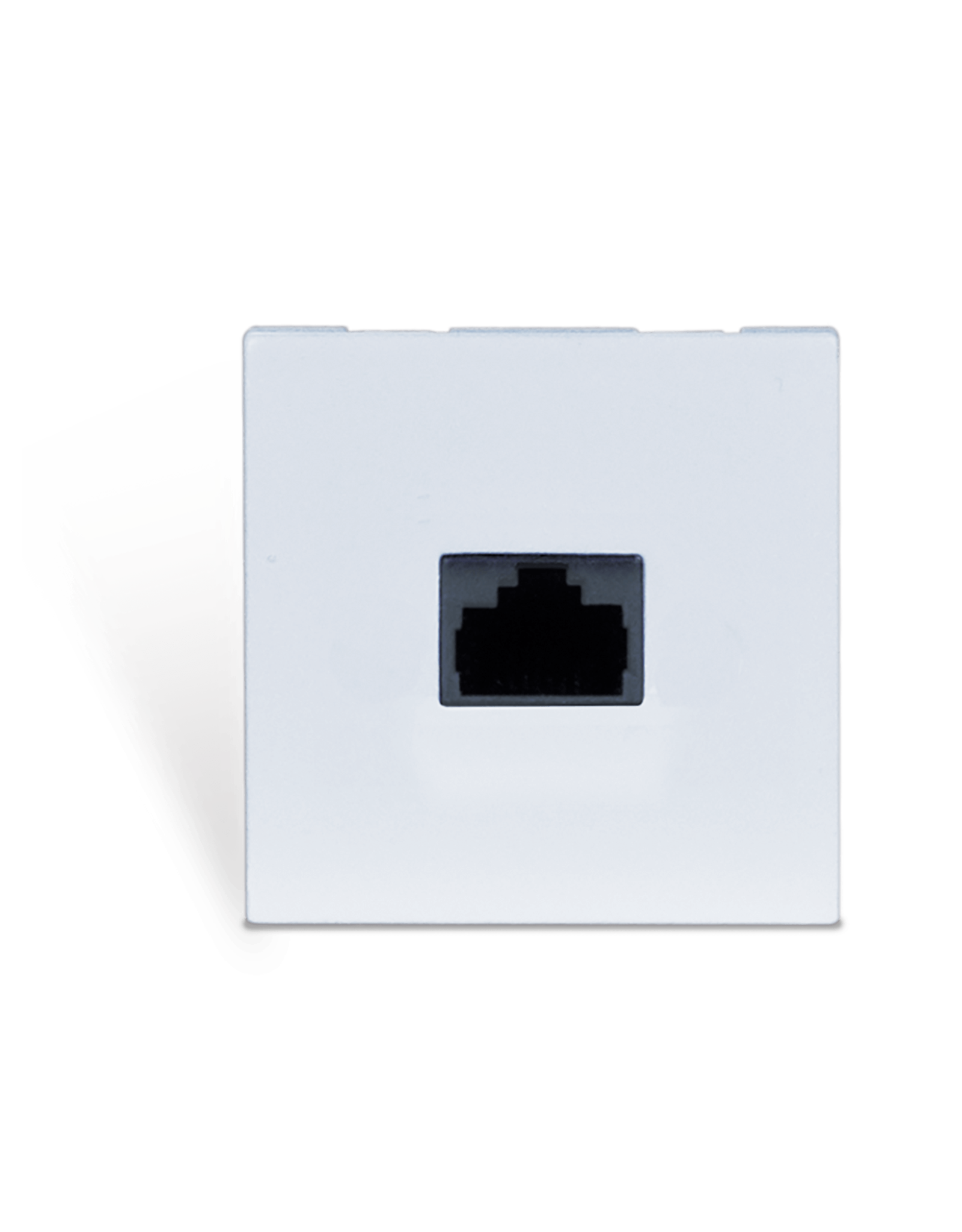 Audac Connection plate - rj45 - bticino White version