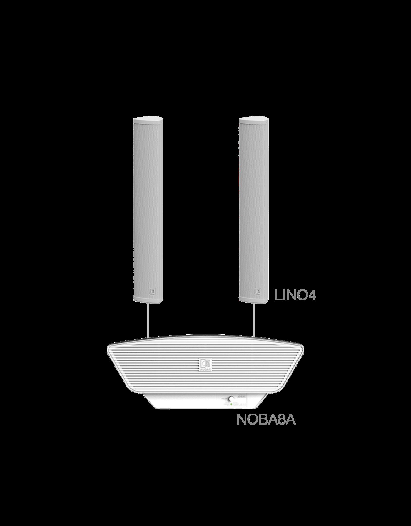 Audac LINO4 + NOBA8A White