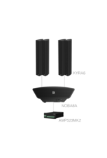 Audac 4 x KYRA6 + NOBA8A  + AMP523MK2 Black