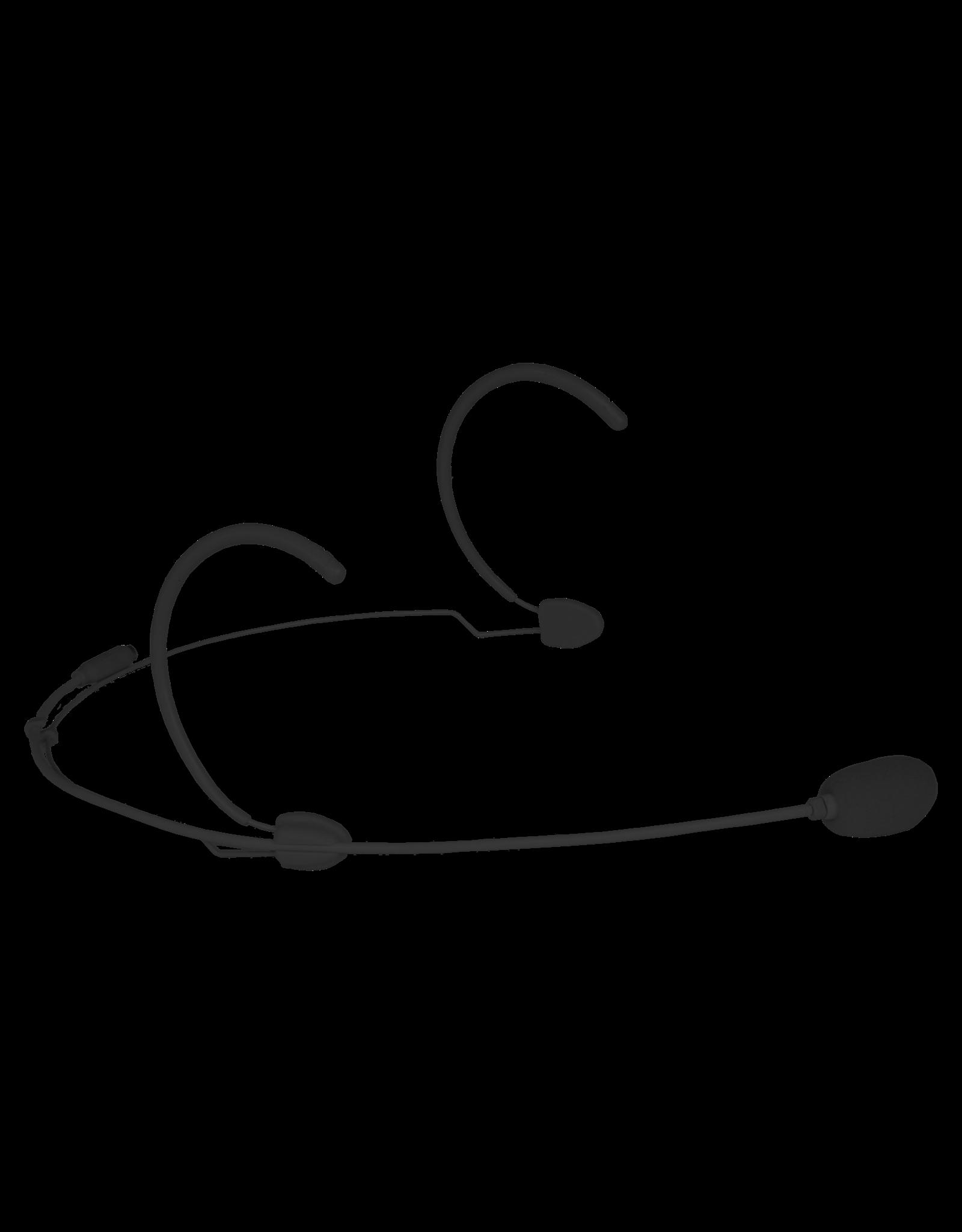 Audac Headset condenser cardioid microphone Black