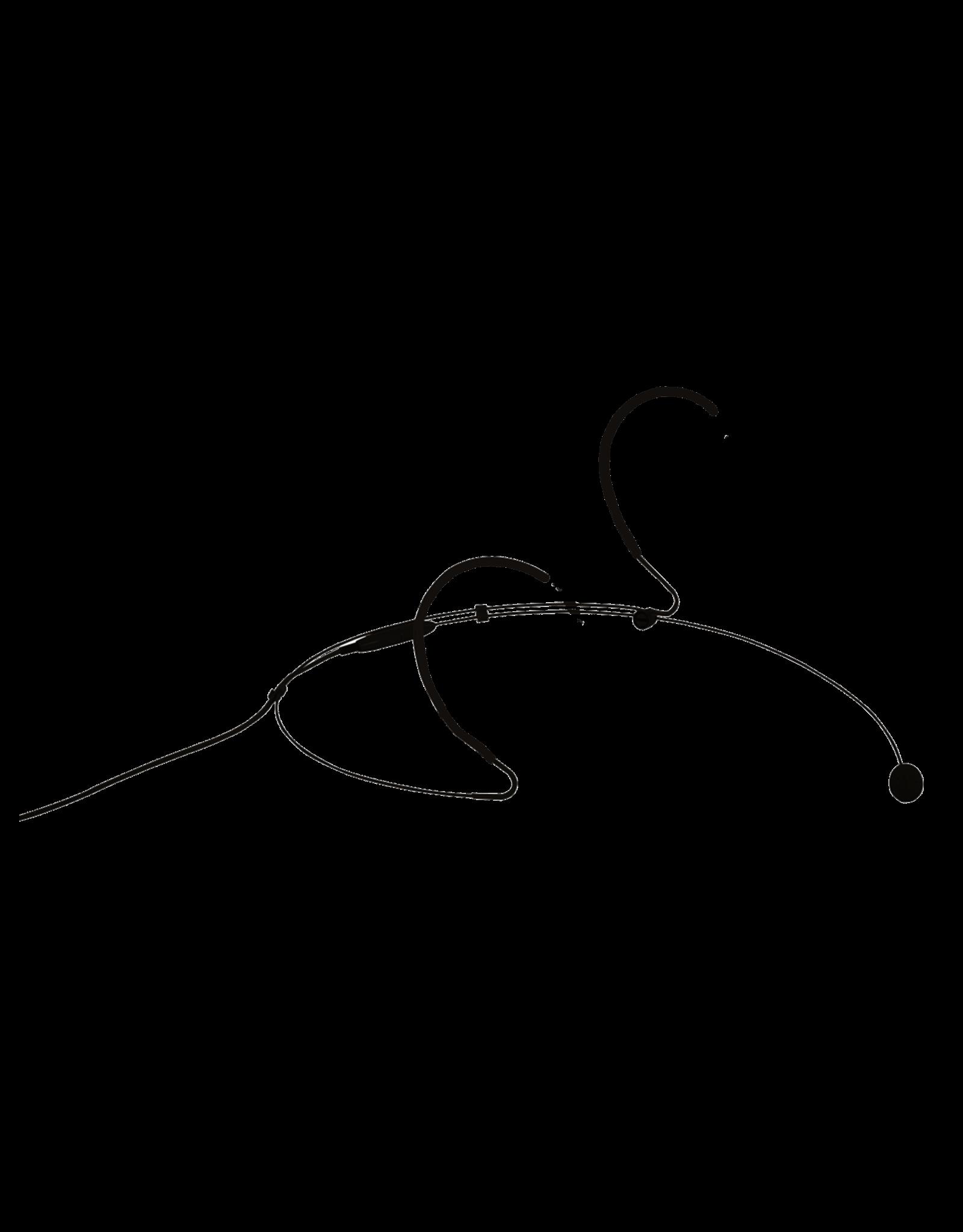 Audac Headset condenser omni-directional microphone Black