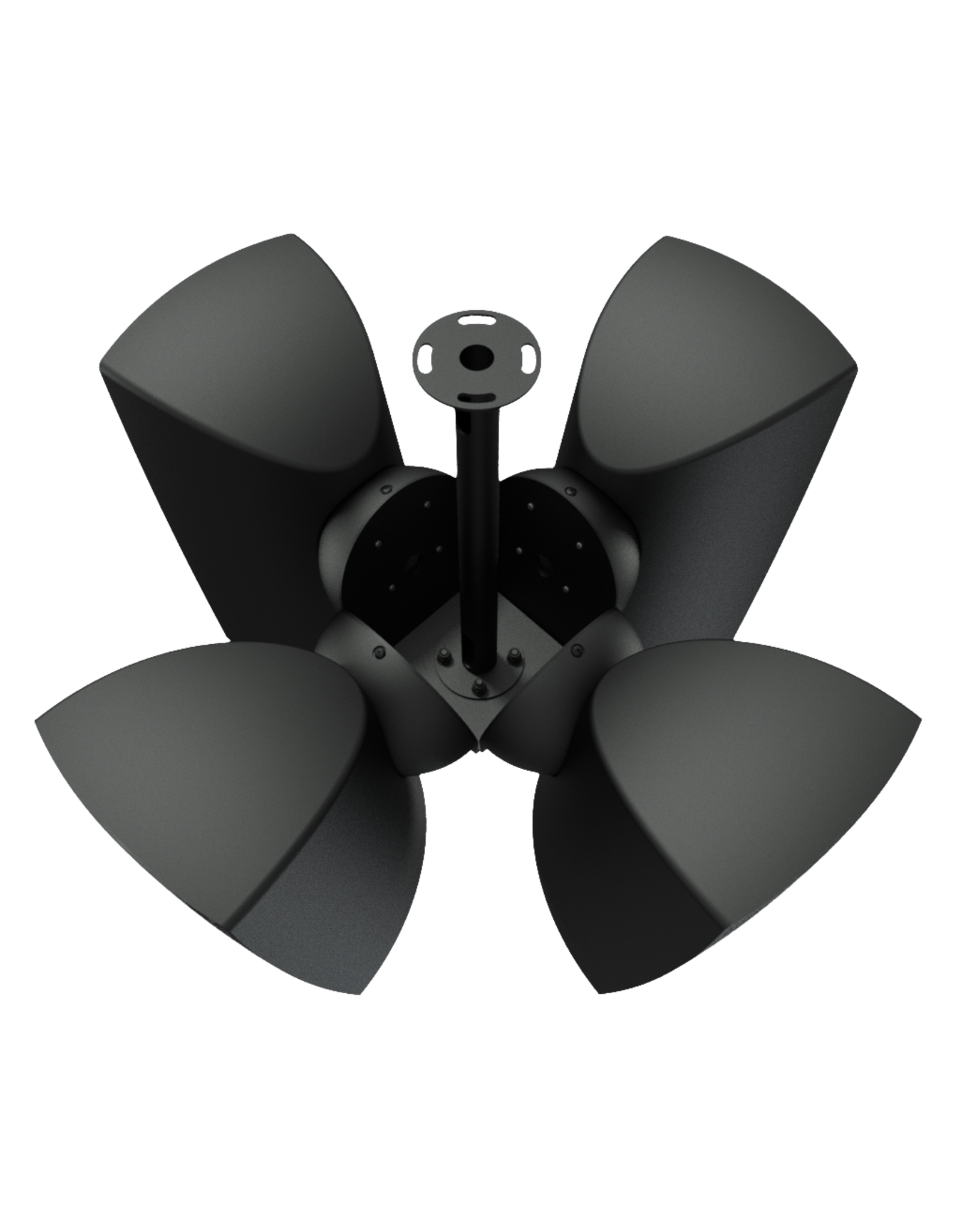 Audac Cluster mounting set 4 x ATEO6 speaker Black