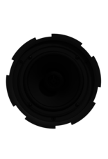 "Audac QuickFit™ 2-way 6.5"" ceiling speaker with TwistFix™ grill White version, 8? & 100V"