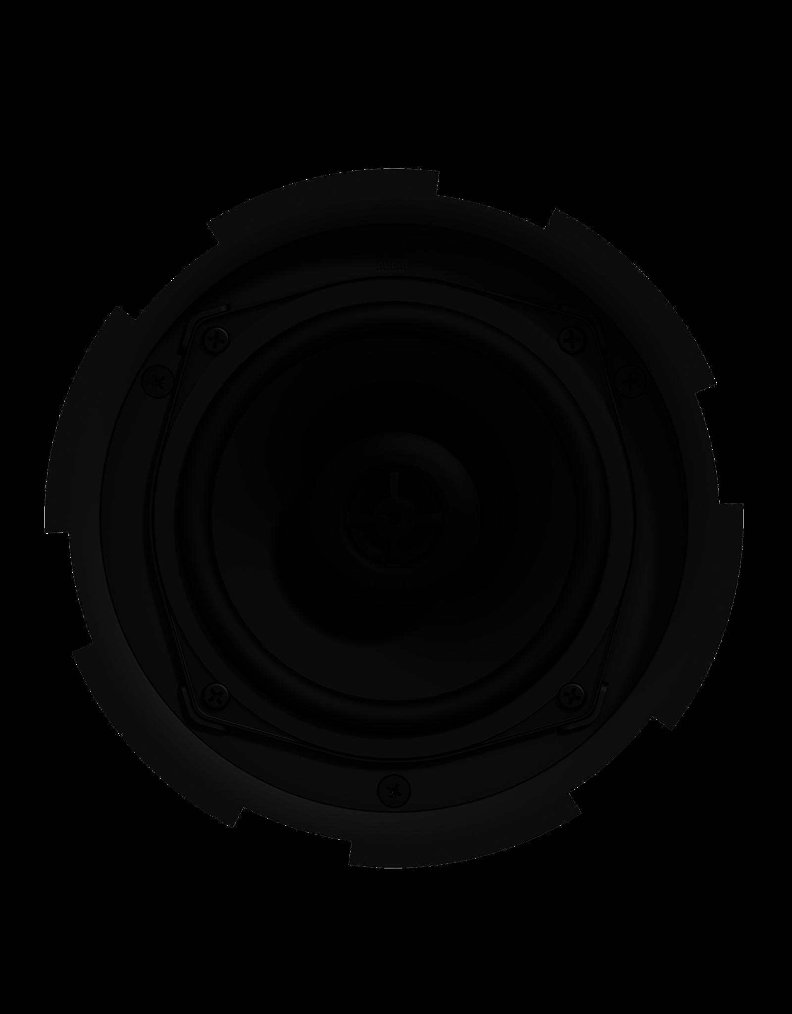 """Audac QuickFit™ 2-way 5 1/4"""" ceiling speaker with TwistFix™ grill White version, 8? & 24 Watt @ 100V"""