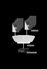 Audac 8x MERO2D + NOBA8A + AMP523MK2 White