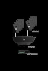 Audac 8x MERO2D + NOBA8A + AMP523MK2 Black