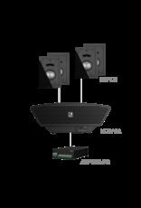 Audac 4x MERO2 + NOBA8A + AMP523MK2 Black