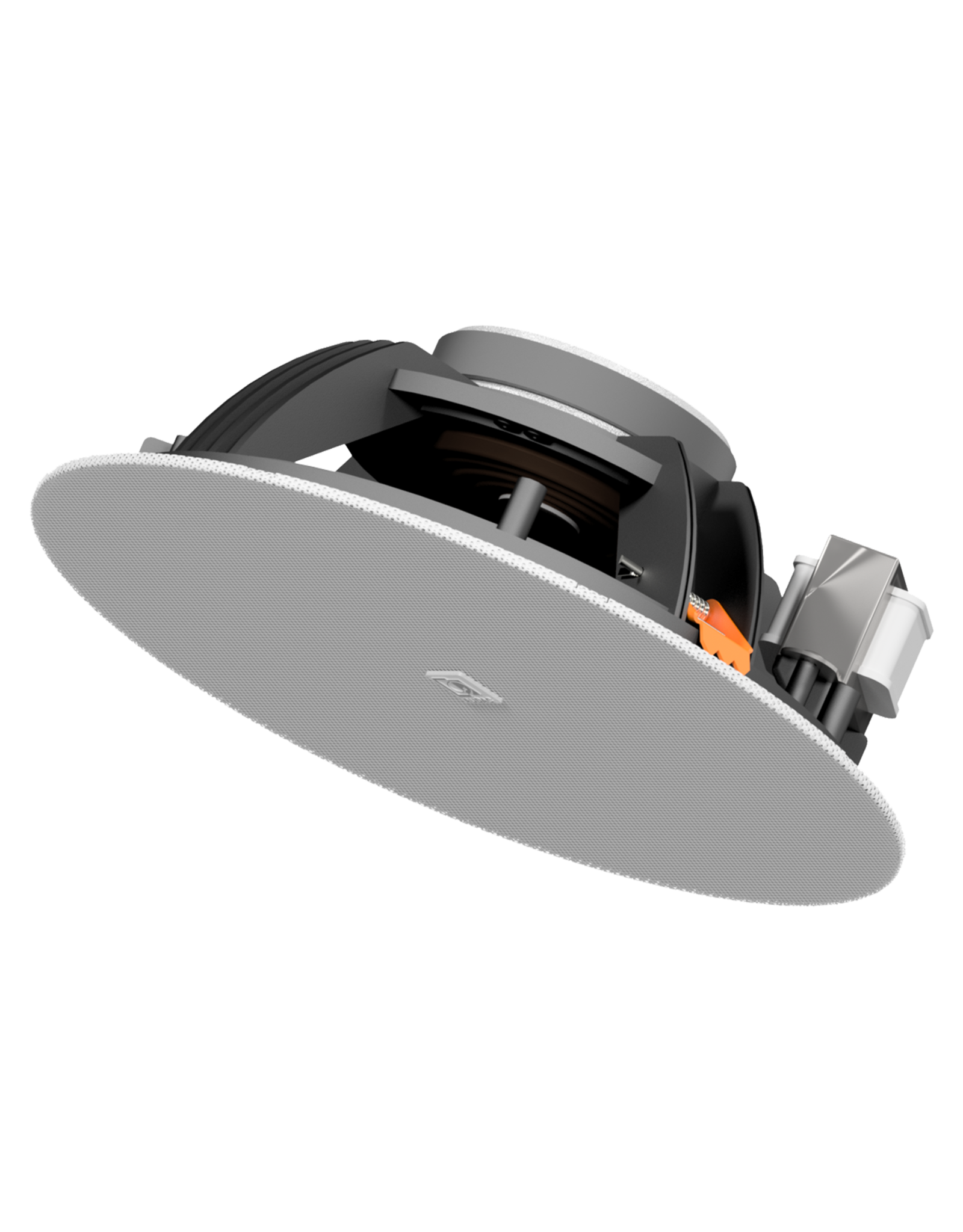 "Audac SpringFit™ 8"" ceiling speaker Black version - 8? and 100V"