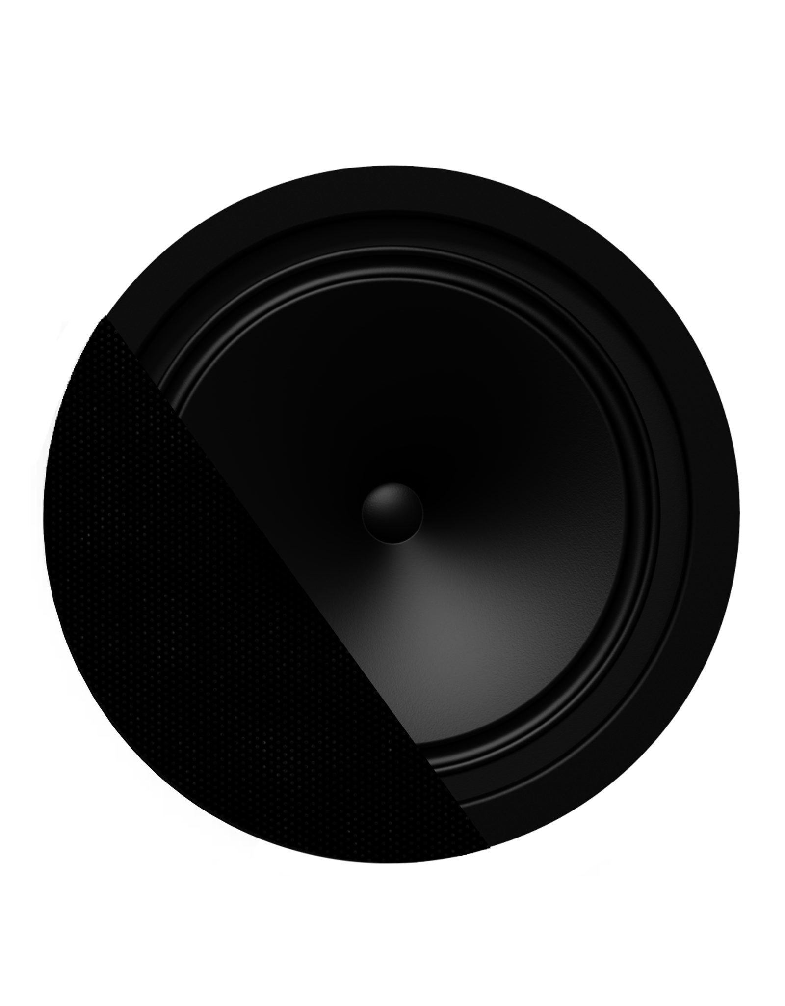 "Audac SpringFit™ 8"" ceiling speaker Black version - 8? and 100V"
