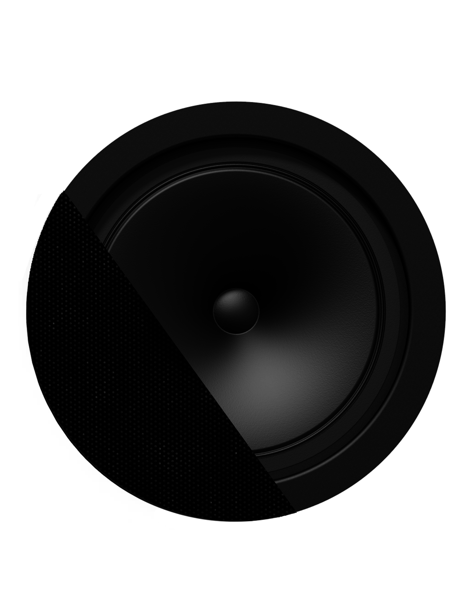 "Audac SpringFit™ 6.5"" ceiling speaker Black version - 8? and 100V"