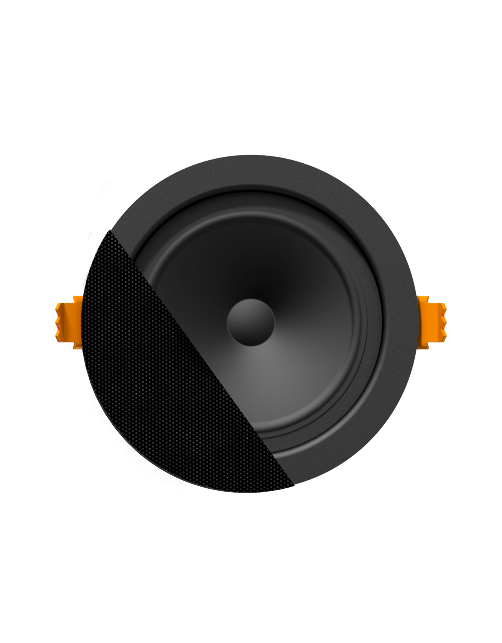 "Audac SpringFit™ 2,5"" ceiling speaker Black version - 8? and 100V"