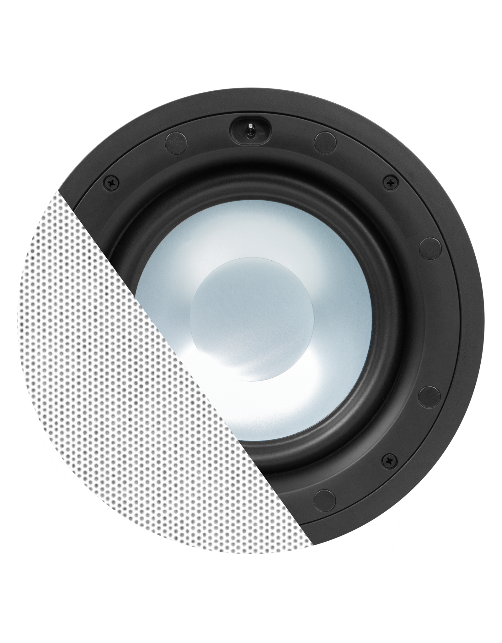 "Audac High-end 8"" ceiling subwoofer White version"