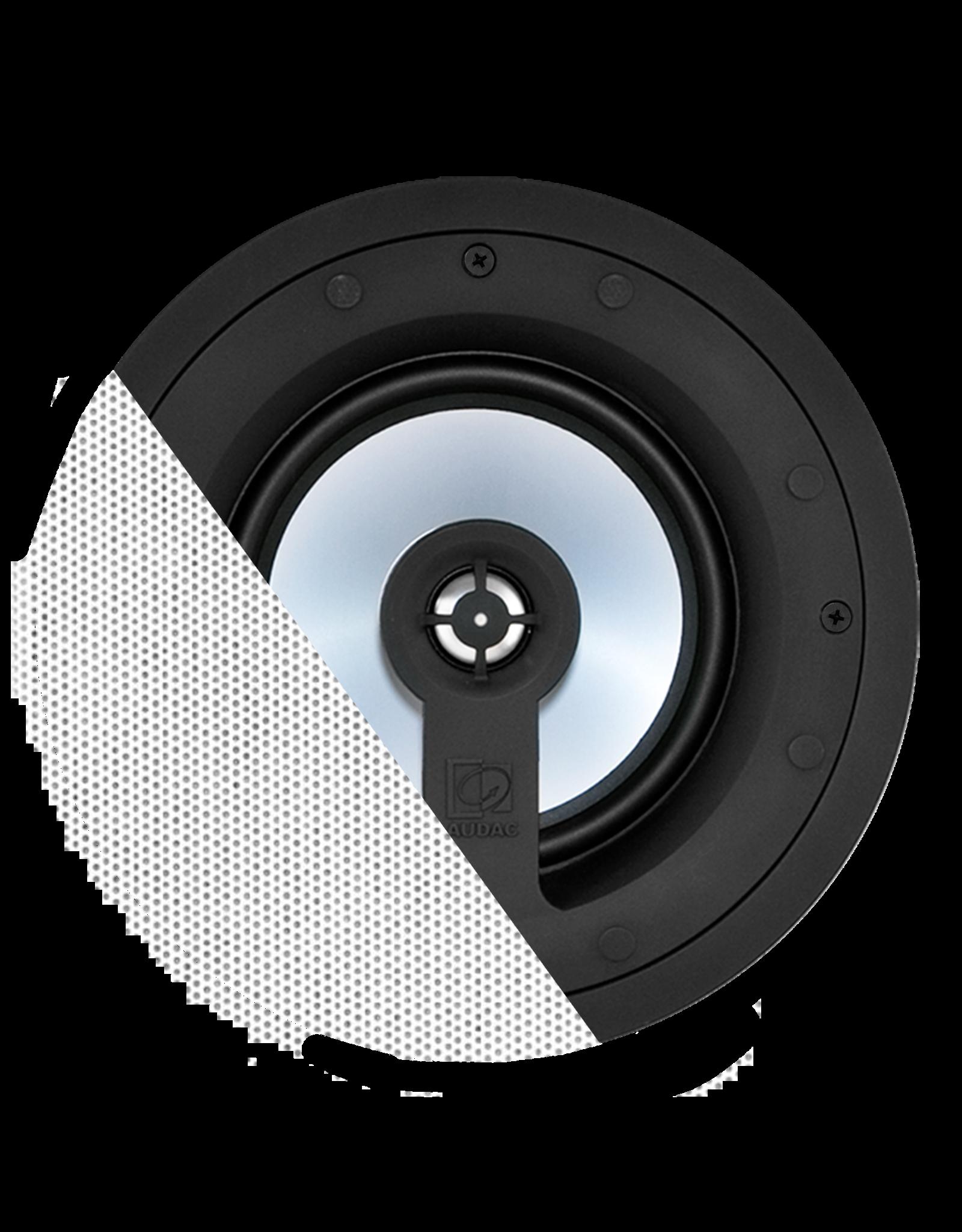 "Audac High-end 2-way 6"" ceiling speaker White version - 8?"