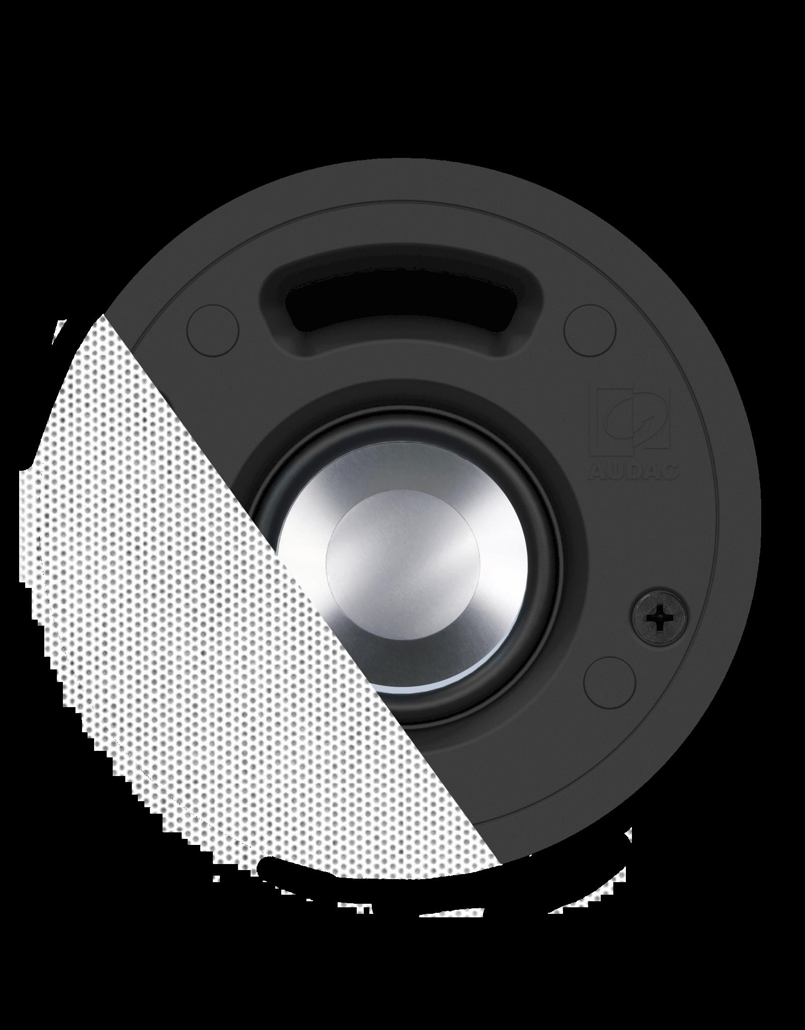 "Audac High-end ceiling speaker 2"" White version - 16 Ohm"