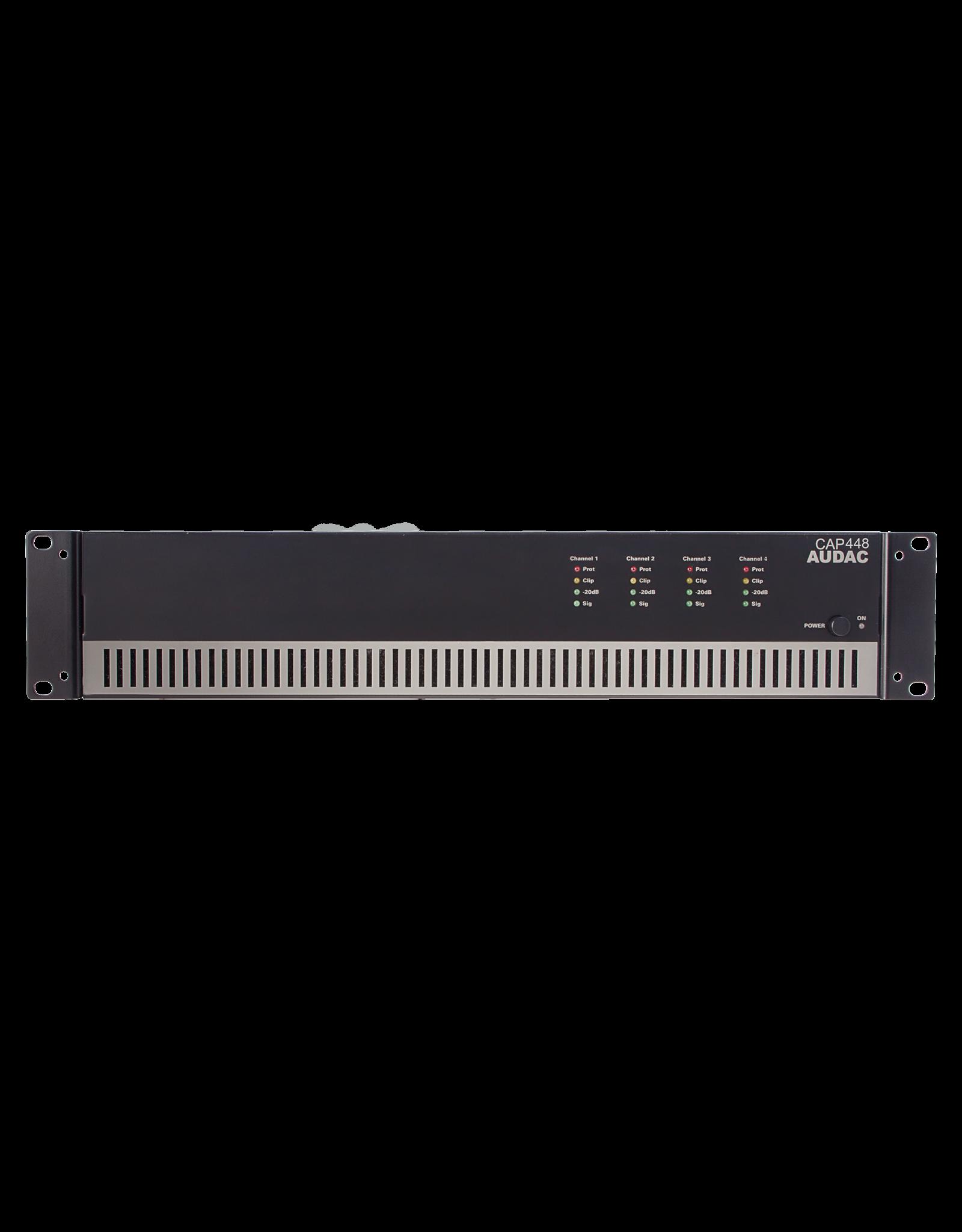 Audac Quad-channel power amplifier 4 x 480W 100V