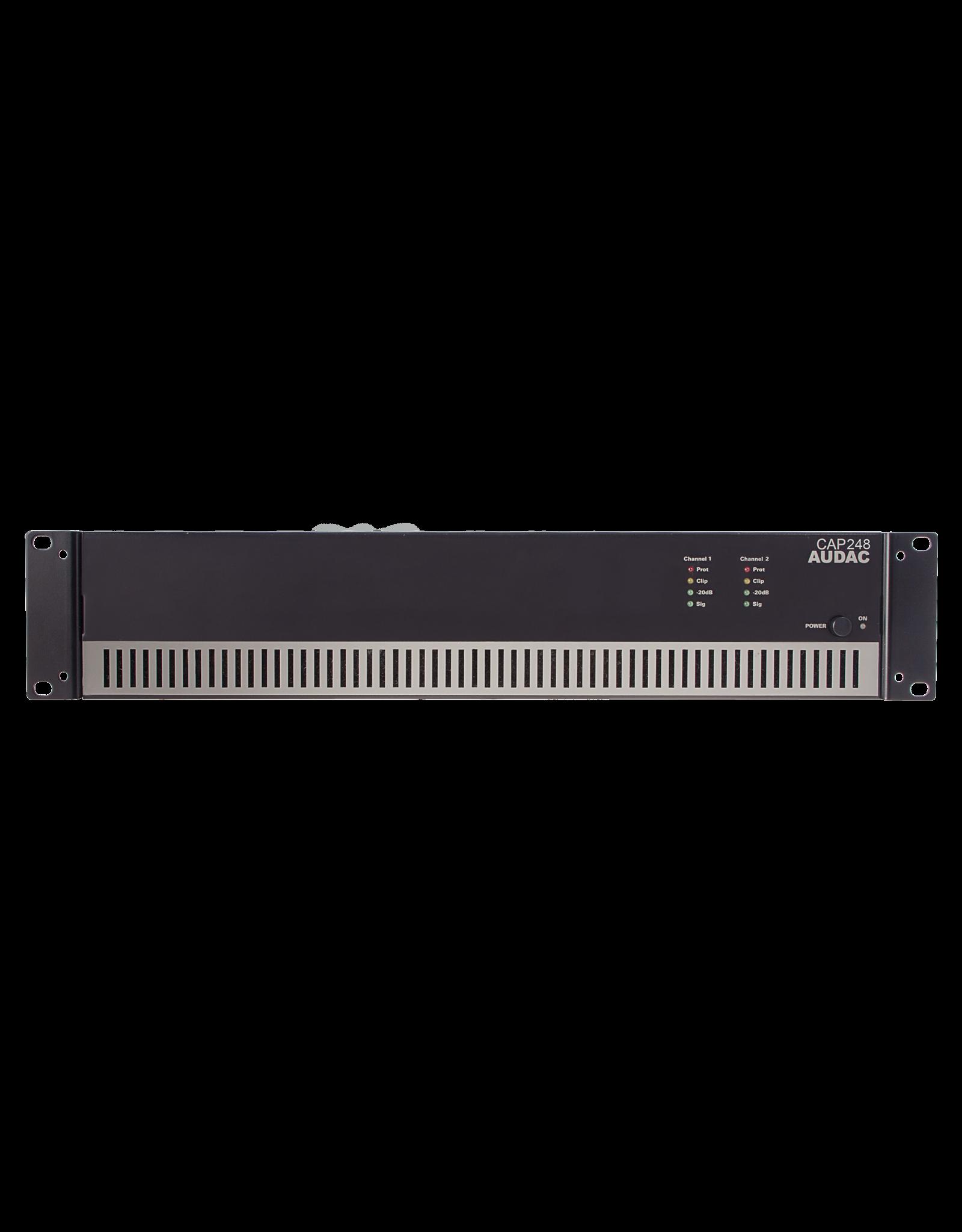 Audac Dual-channel power amplifier 2 x 480W 100V