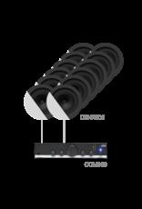 Audac 12 x CENA506 + COM108 White version