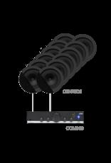 Audac 12 x CENA506 + COM108 Black version