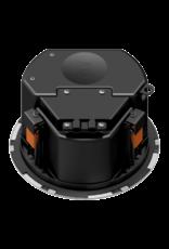 "Audac Safelatch™ 2-way 6.5"" ceiling speaker with Twist-Fix™ grill White"