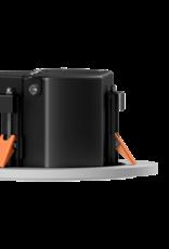 "Audac Safelatch™ 2-way 4"" ceiling speaker with Twist-Fix™ grill White"