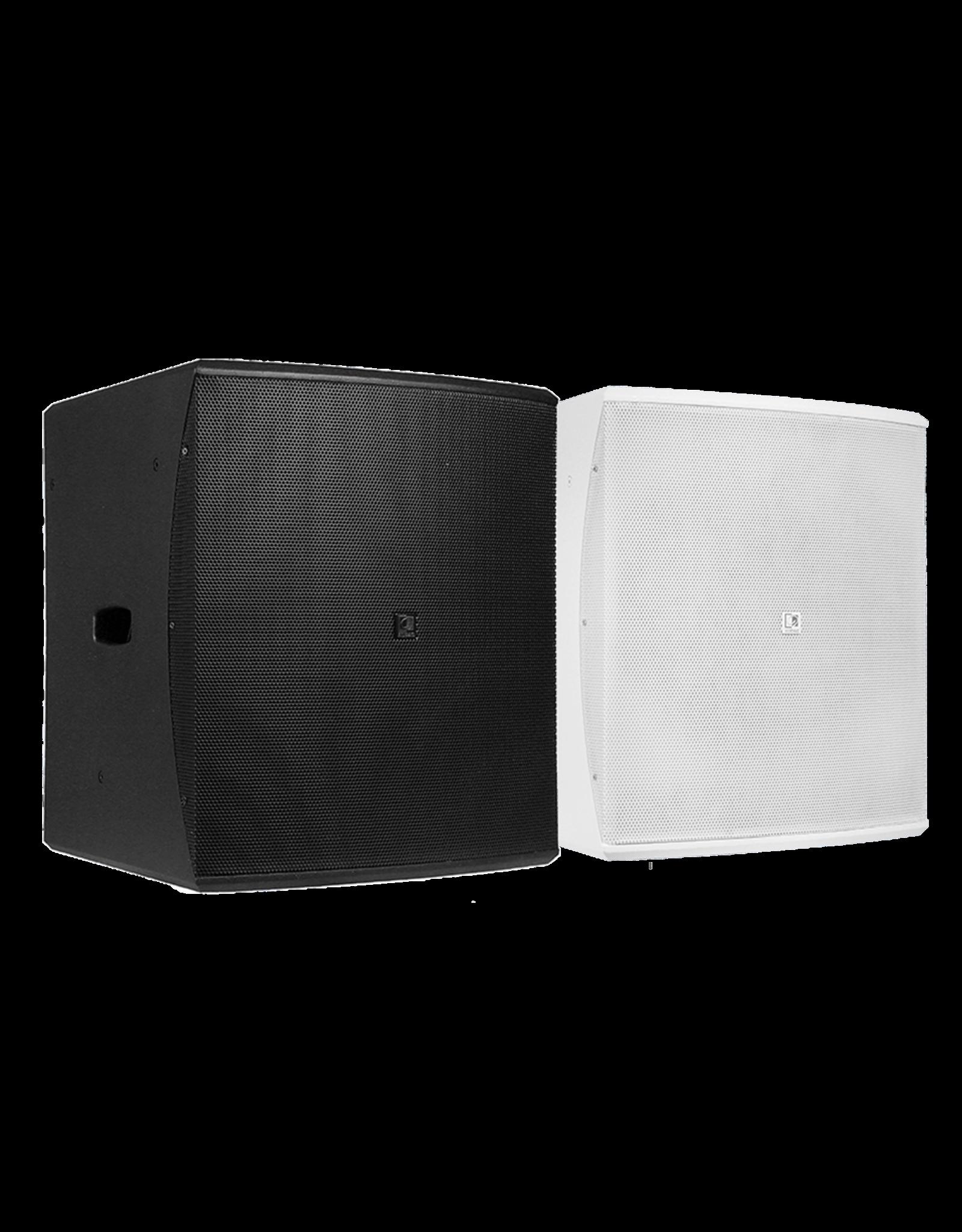 "Audac Compact 15"" bass reflex cabinet Black version"