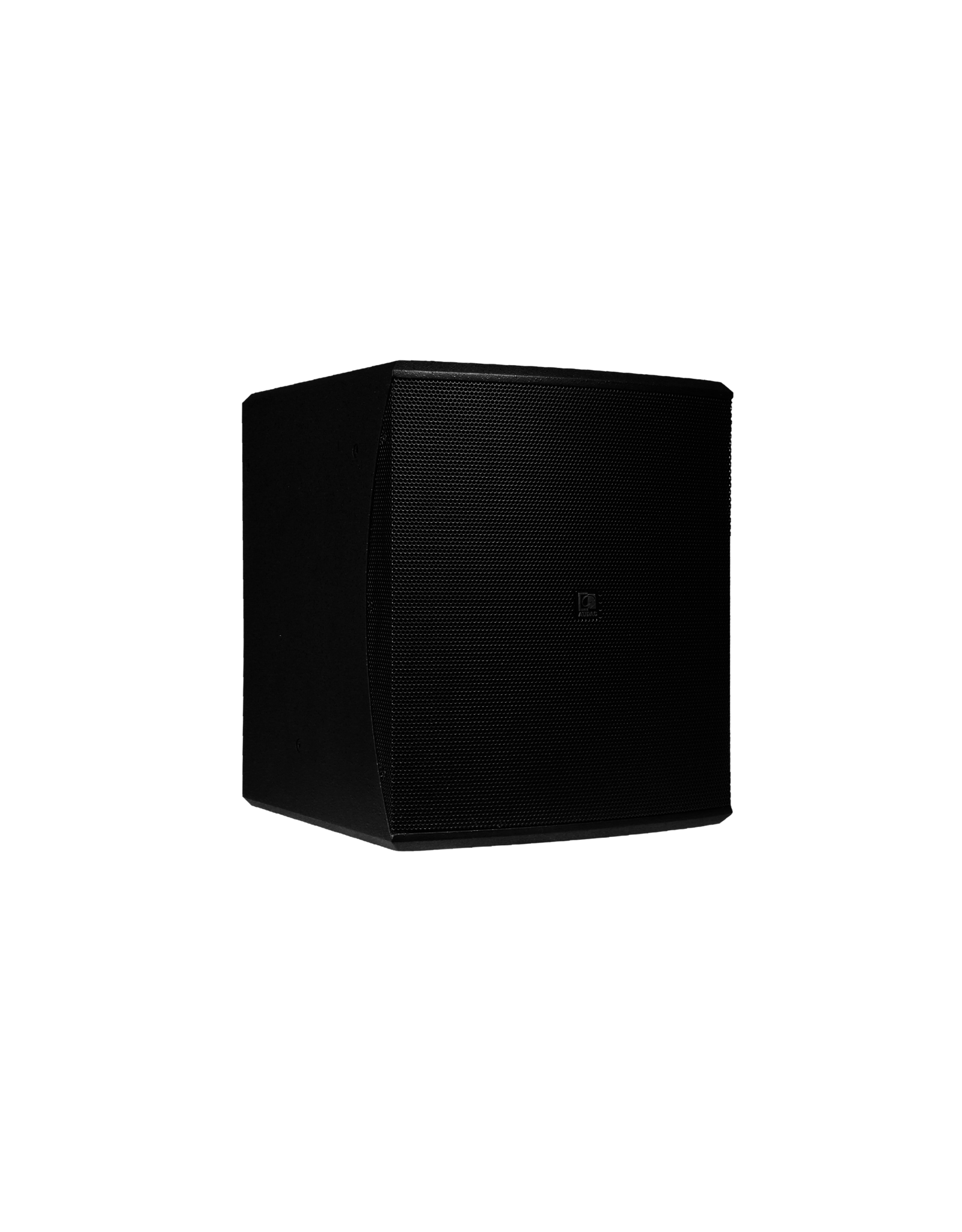 "Audac Compact 12"" bass reflex cabinet Black version"