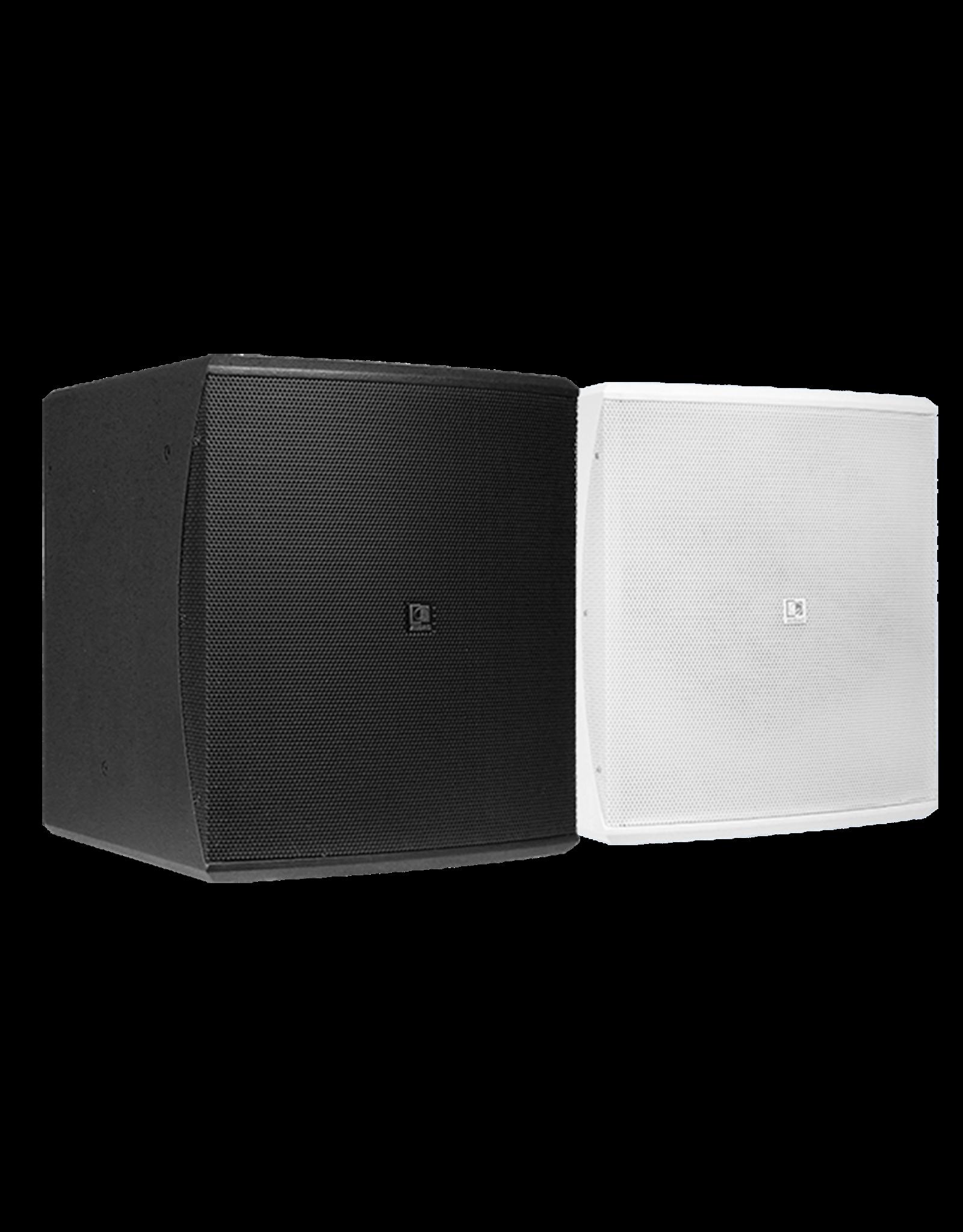 "Audac Compact 10"" bass reflex cabinet Black version"