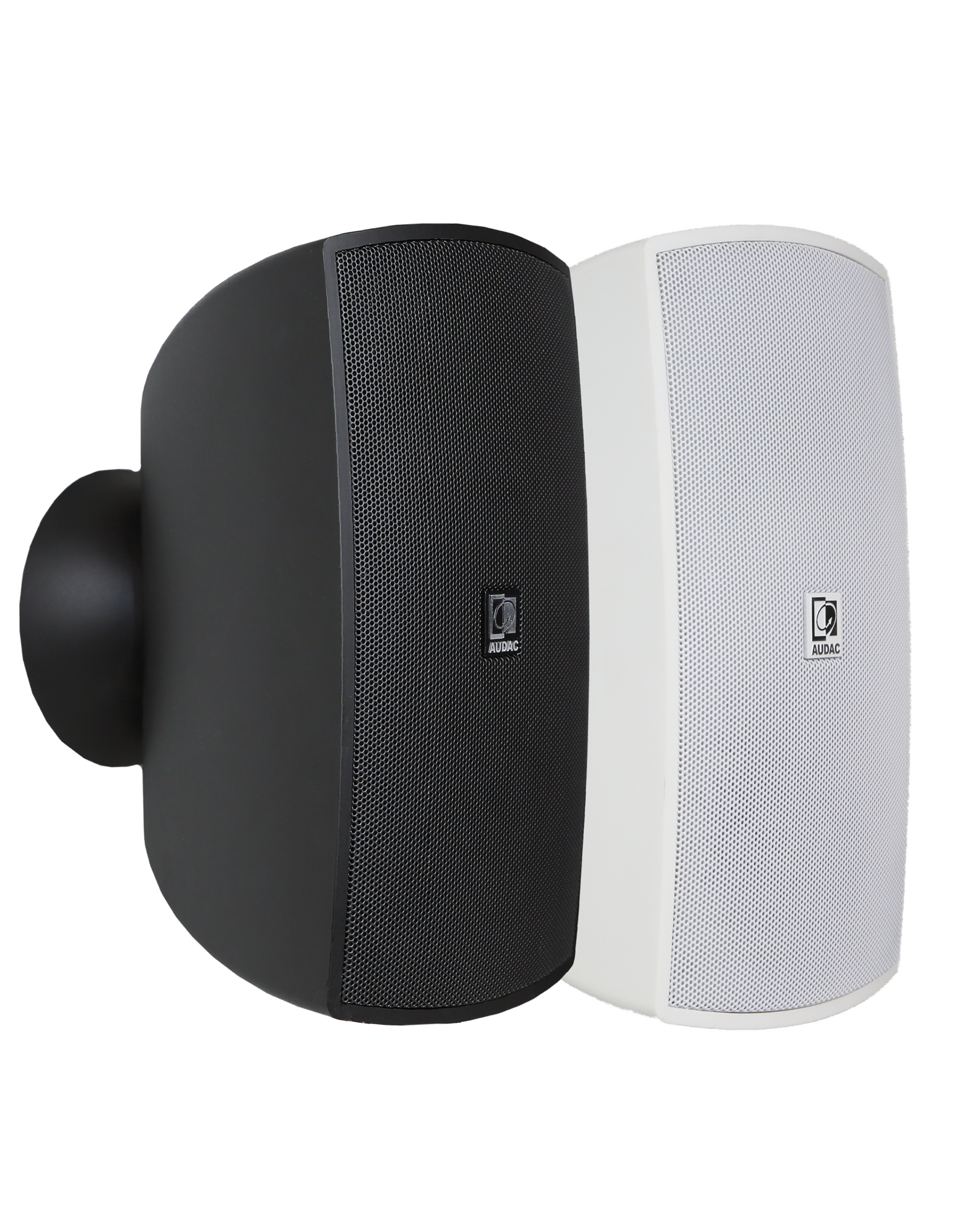 """Audac Wall speaker with CleverMount™ 6"""" Black version - 8 Ohm and 100V"""