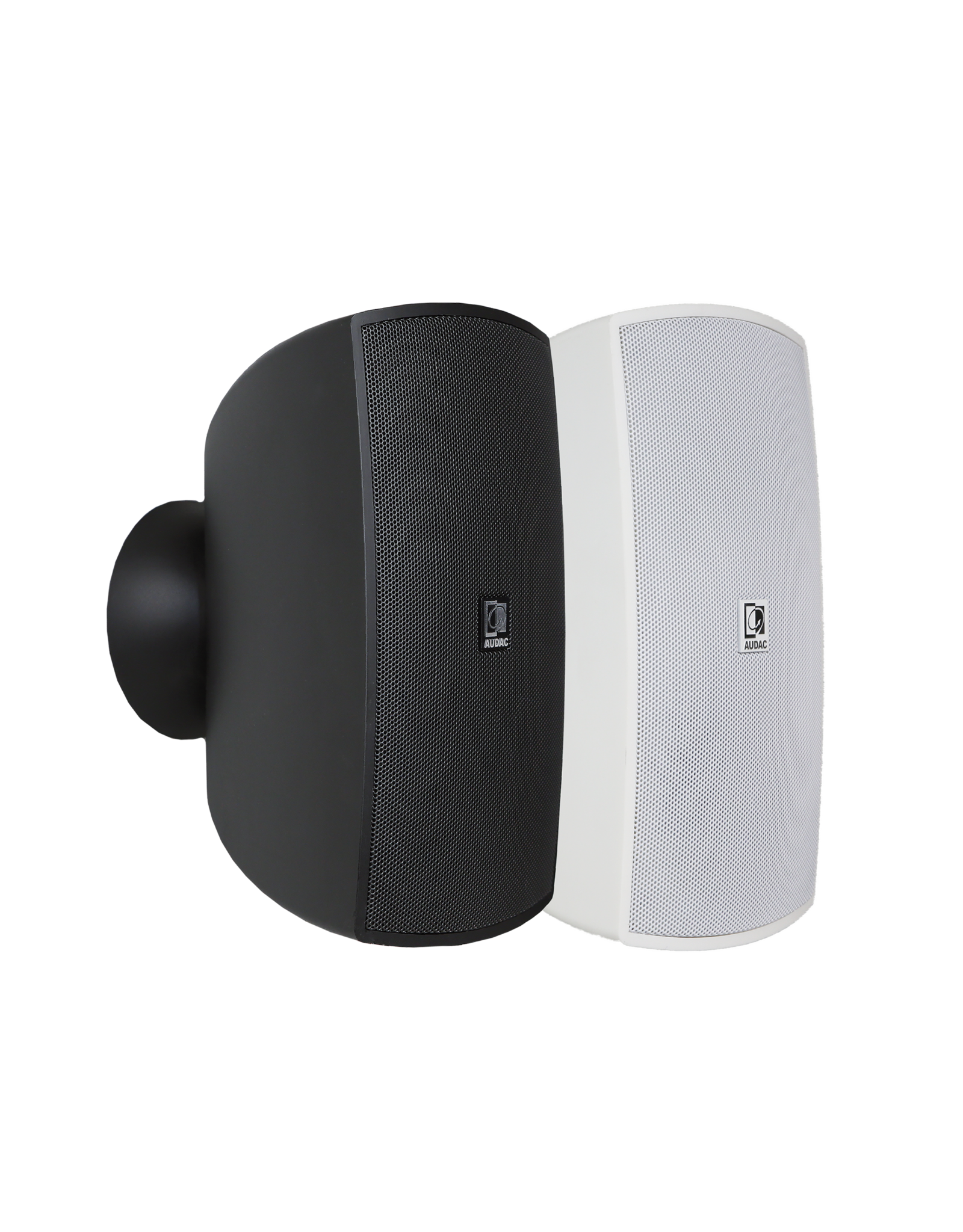"""Audac Wall speaker with CleverMount™ 4"""" White version - 8 Ohm and 100V"""