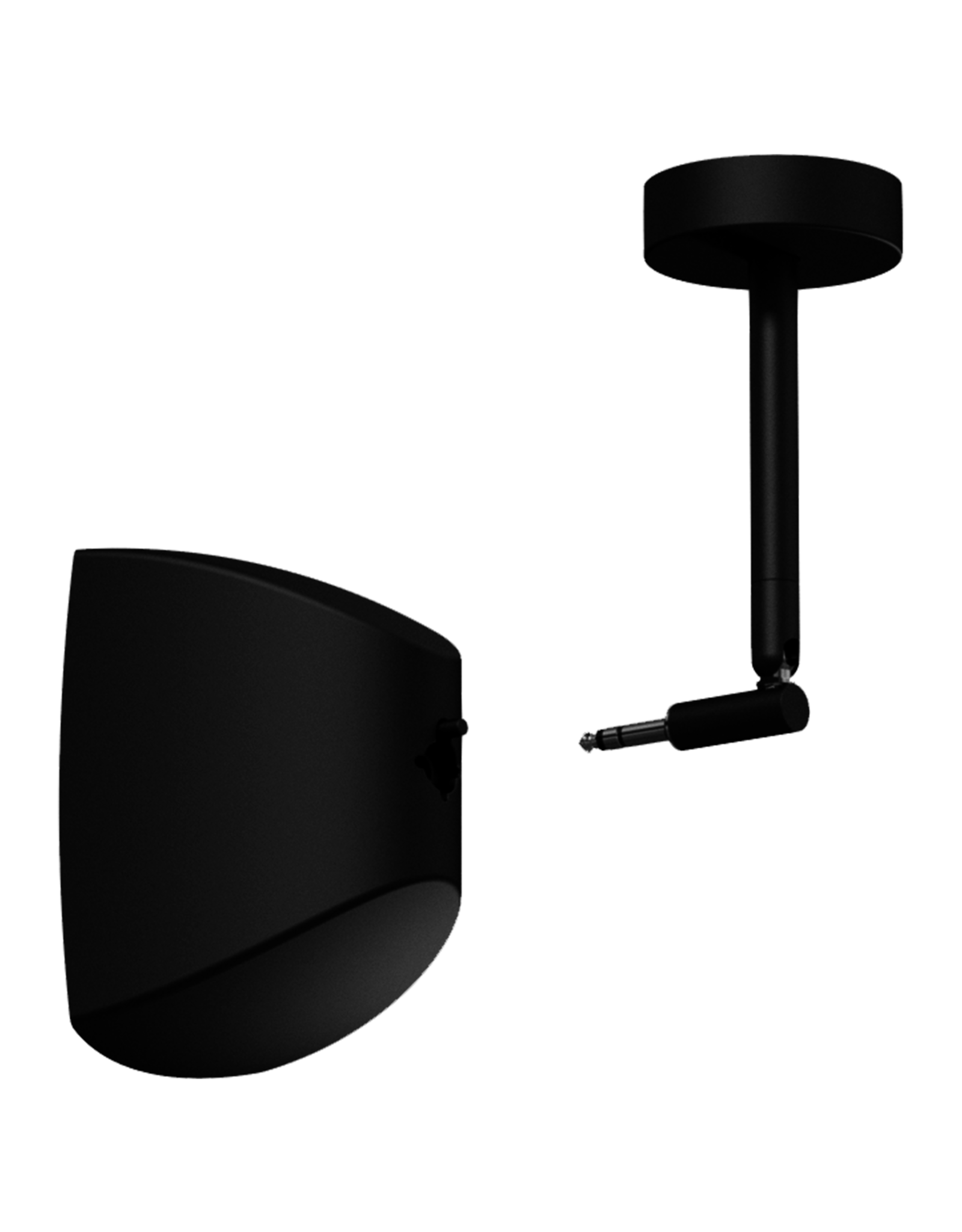 Audac ATEO2 with surface ceiling mount Black version - 16 Ohm