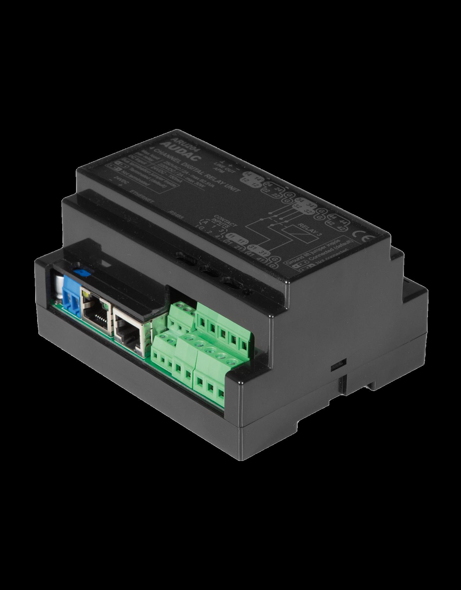 Audac Multi-channel digital relay unit - 4 relays