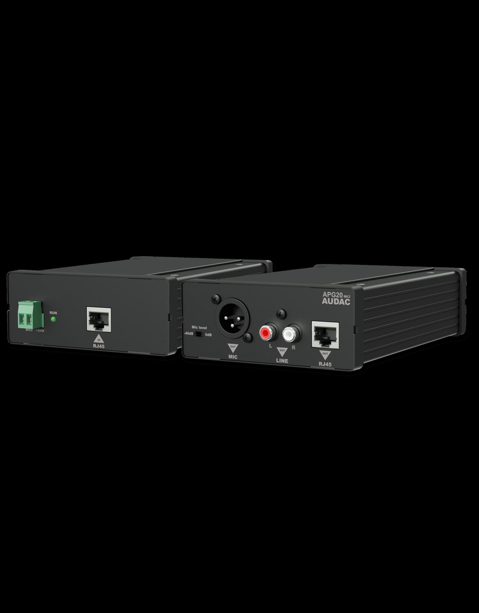 Audac Active audio transceivers RCA Active audio transceivers RCA