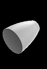 "Audac 2-way 6.5"" design wall sound projector White version"