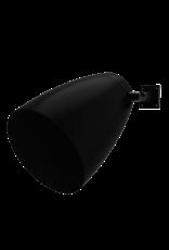 "Audac 2-way 6.5"" design wall sound projector Black version"