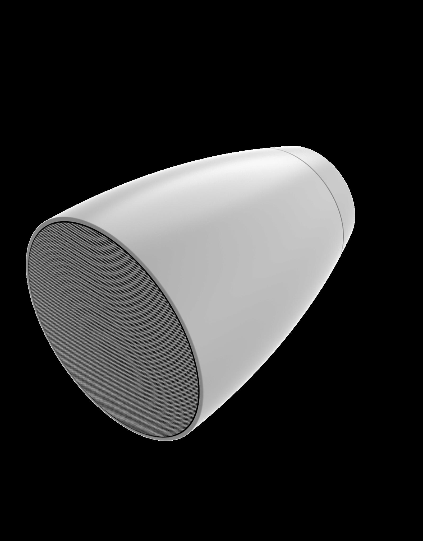 "Audac 2-way 6"" pendant speaker White version"
