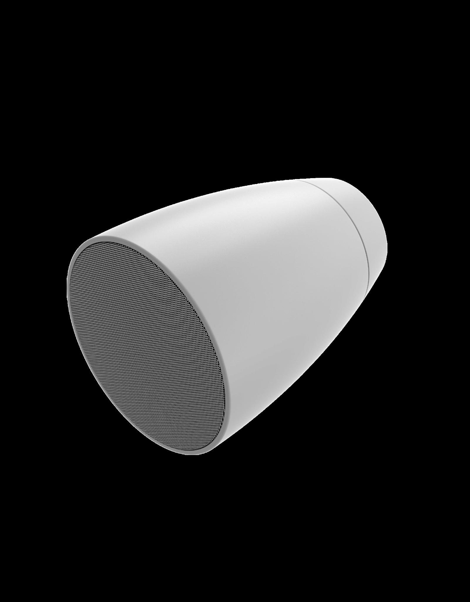 "Audac 2-way 4"" design wall sound projector White version"