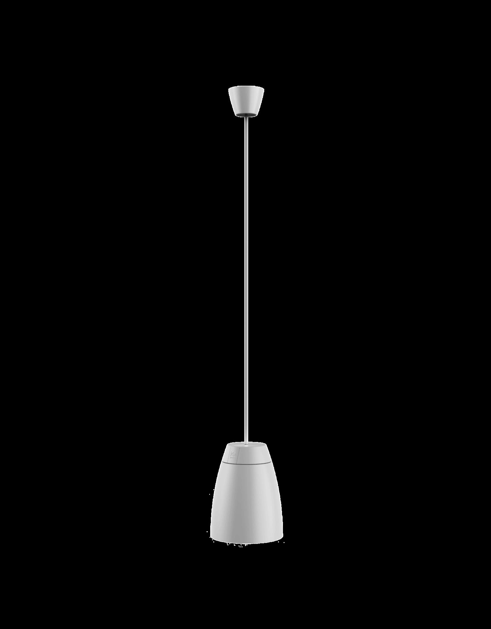 "Audac 2-way 4"" pendant speaker White version"