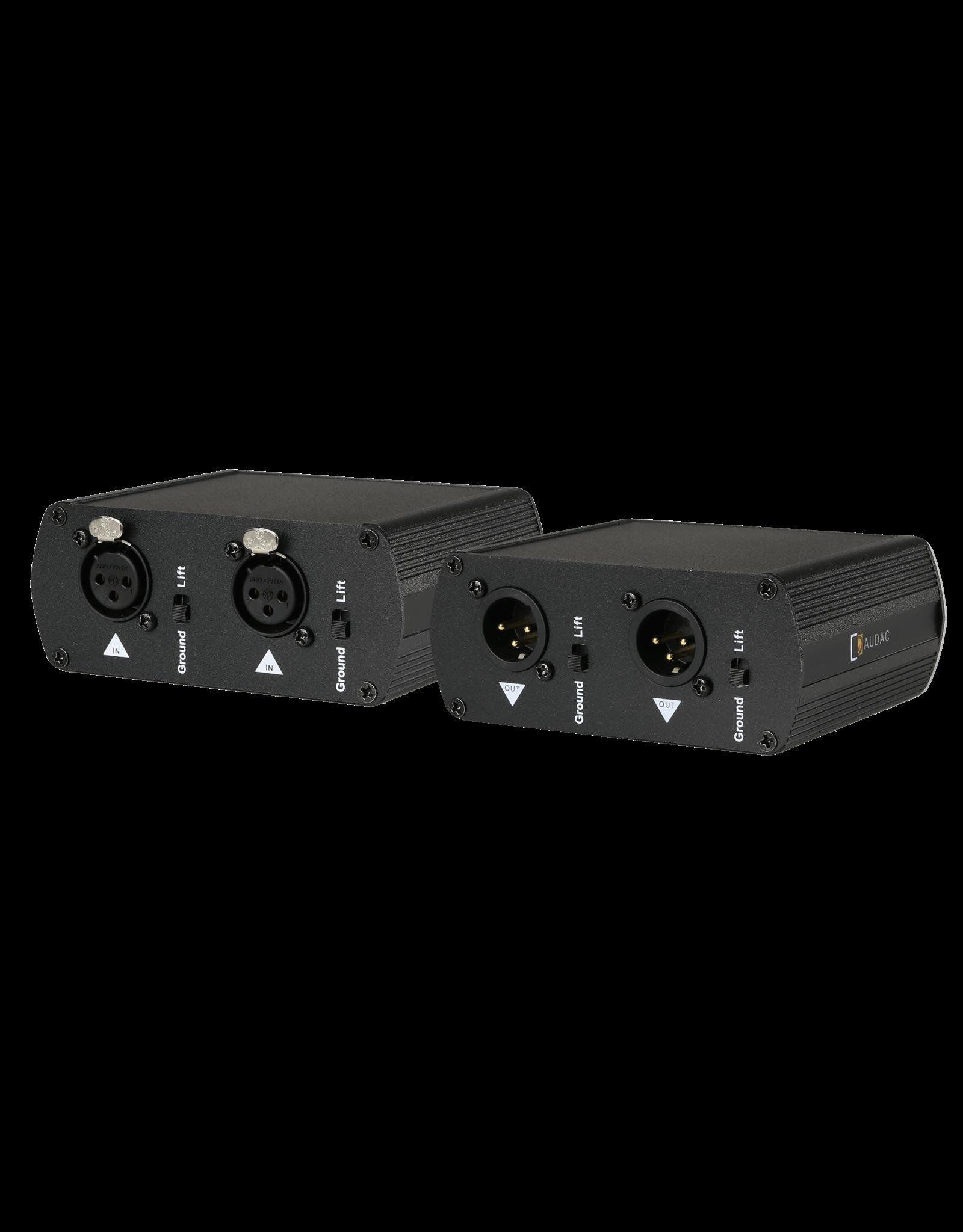 Audac Audio line isolator Super shielded