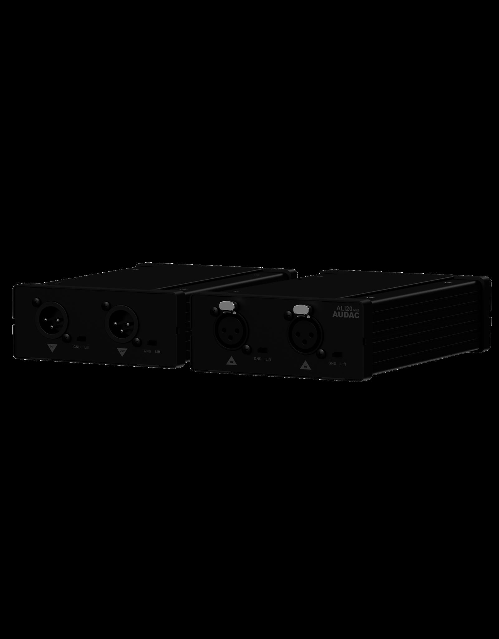 Audac Audio line isolator Shielded