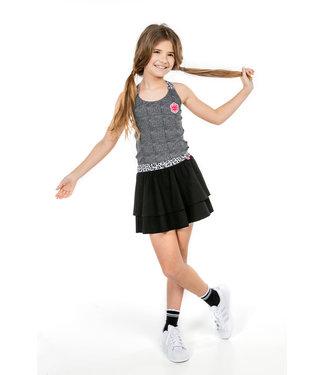 MAYCE Girlslabel Meisjes rok - Zwart
