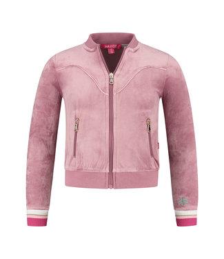 MAYCE Girlslabel Meisjes vest - Oud roze