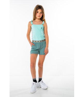 MAYCE Girlslabel Meisjes top - Mint blauw
