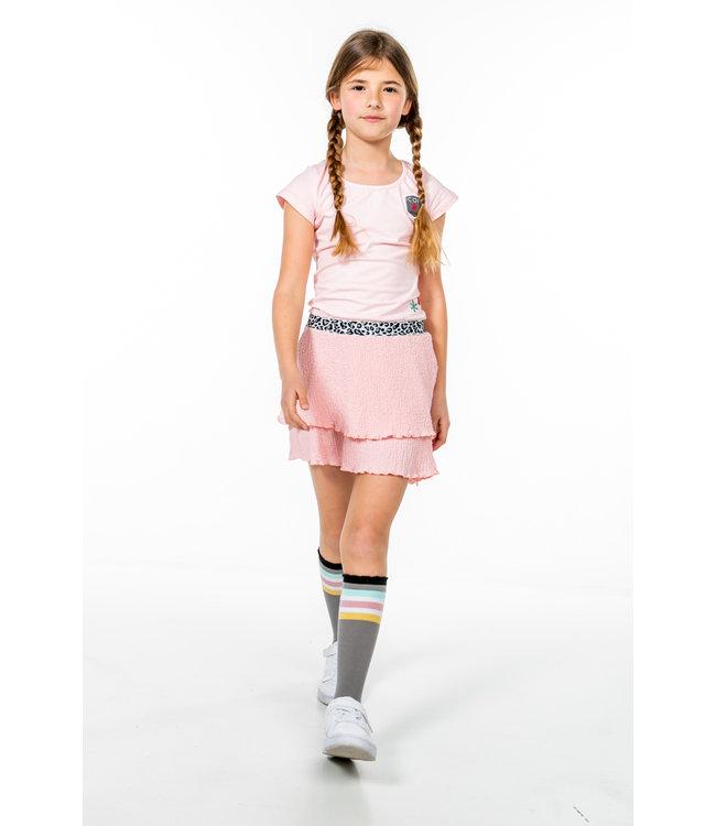 MAYCE Girlslabel Meisjes jurk - Licht roze