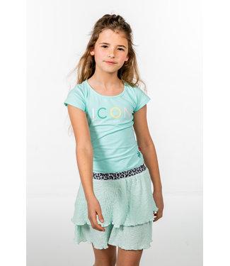 MAYCE Girlslabel Meisjes jurk - Licht mint