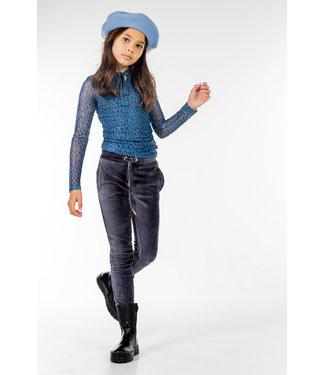 MAYCE Girlslabel Meisjes shirt - Animal blauw