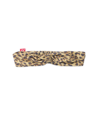 MAYCE Girlslabel Meisjes haarband - Animal bruin