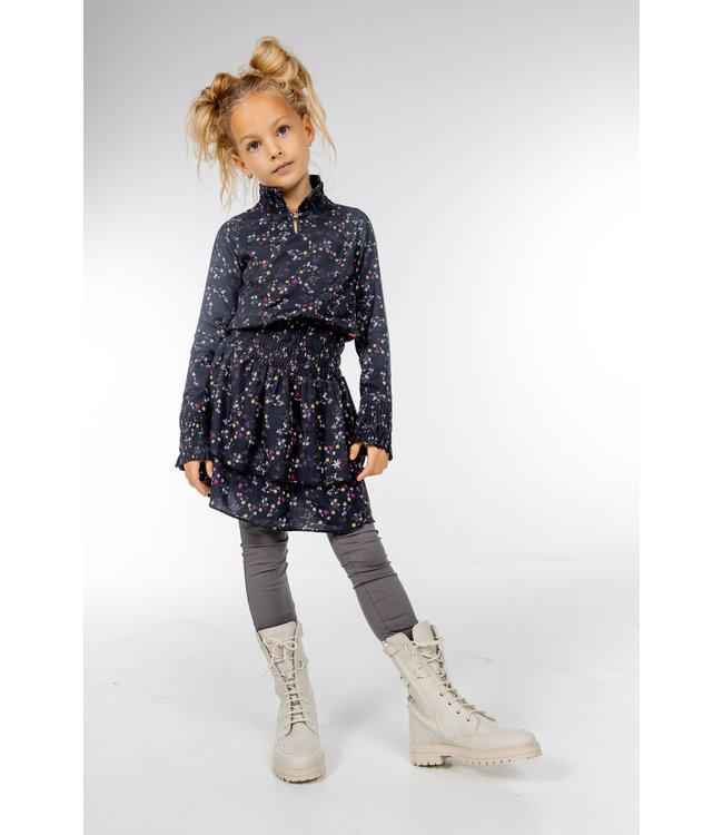 MAYCE Girlslabel Meisjes jurk flowy - Bloemen