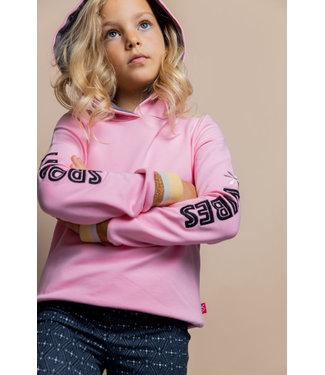 MAYCE Girlslabel Meisjes hoodie - Licht roze
