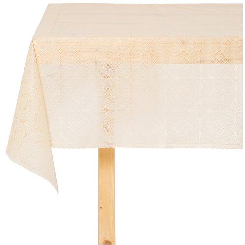 Tafelzeil Kant Blok Beige